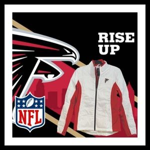 NEW Falcon's NFL Women's Full-Zip Puffer Jacket